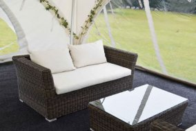 Rattan Chill Out Sofas 2 Seater
